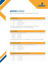 Download Mortar & Render Spread Guide