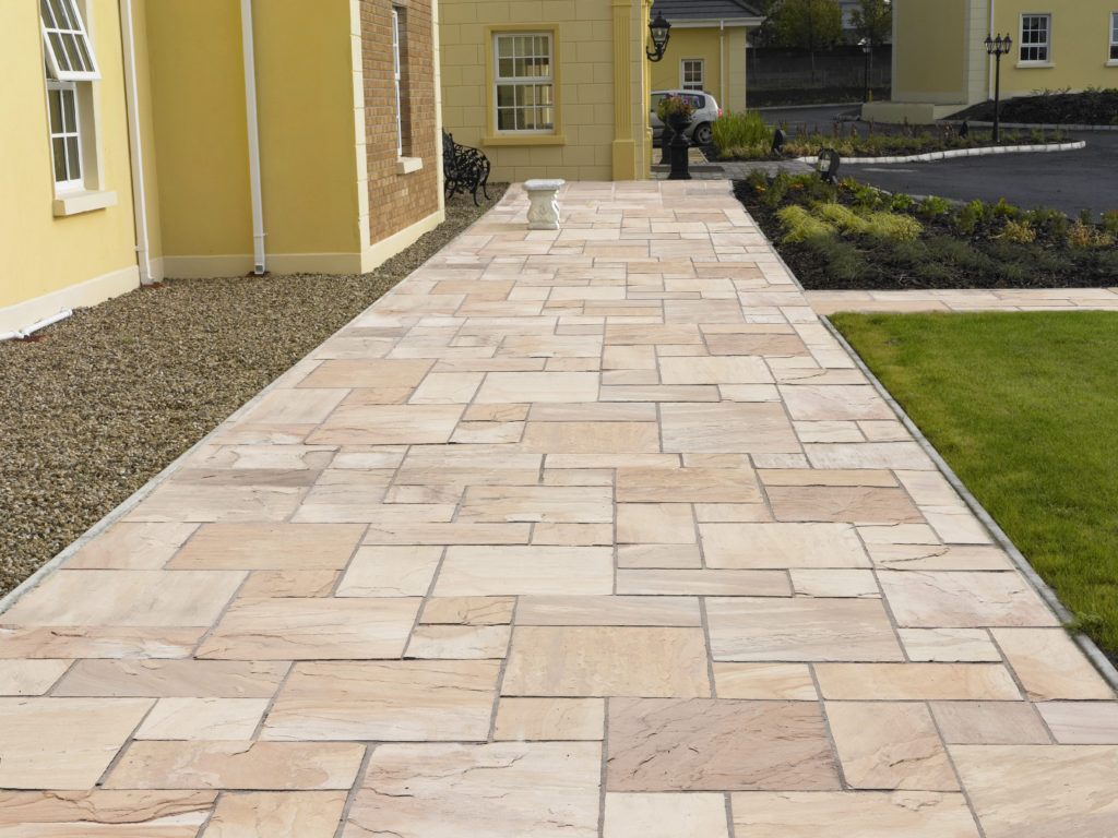 Indian Sandstone Natural Paving Supplier Ireland Roadstone