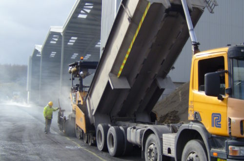 Asphalt concrete procedure