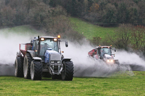 Lime spreading Pleaberstown