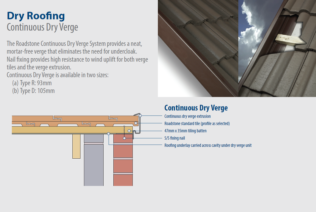 Continuous Dry Verge Fitting Guide