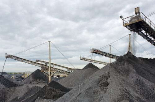 Granular fill materials at Roadstone Quarry