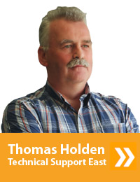 Thomas Holden, Technical Support - East, (01-4041264)