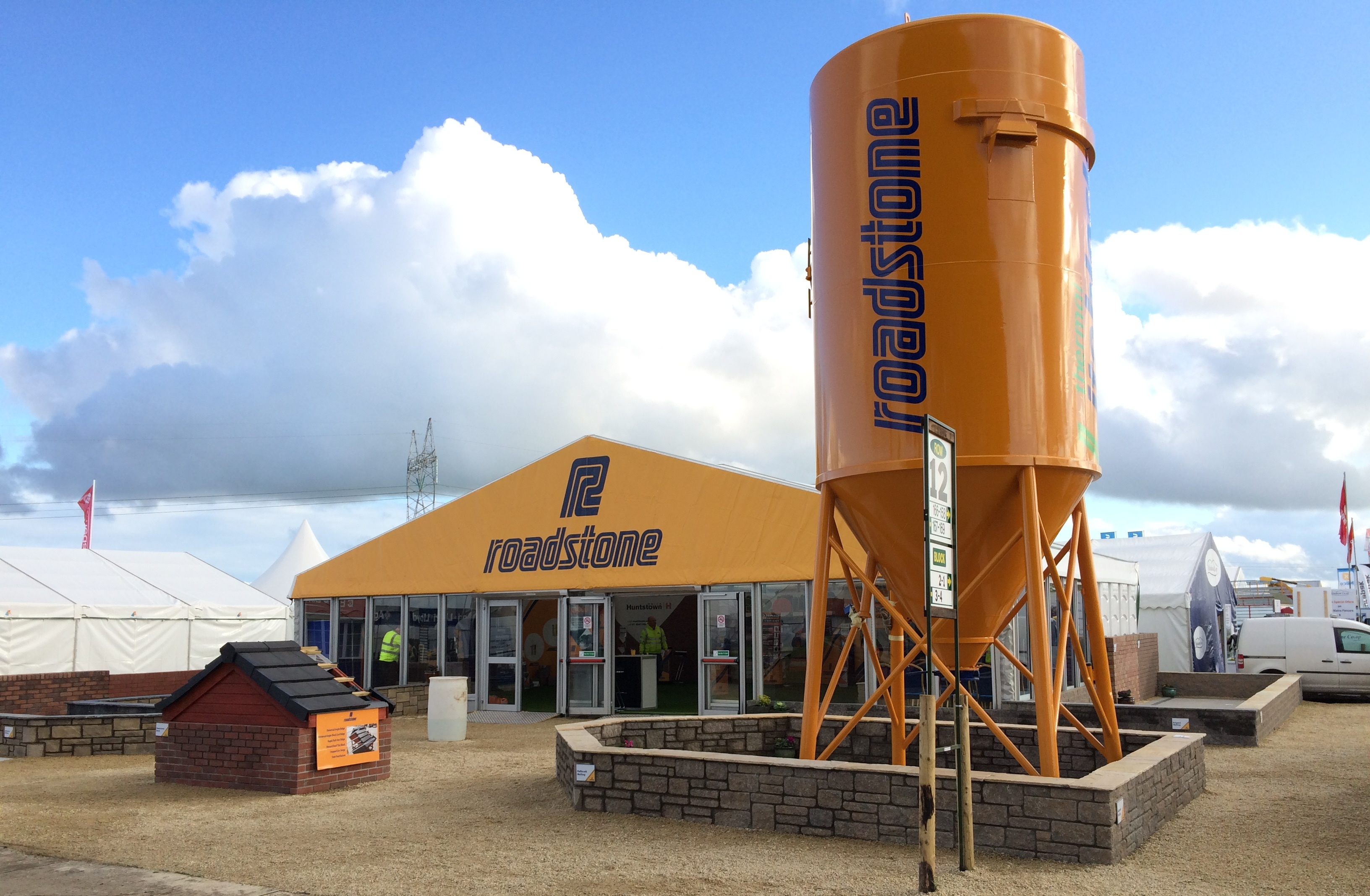 Roadstone stand at the national ploughing championships 2015