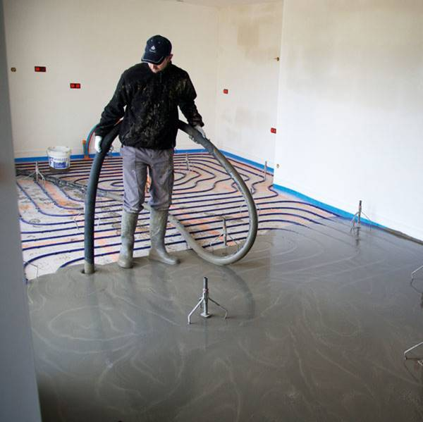 Screed, cementitious screed