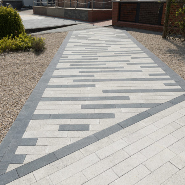 paving, block paving, linear paving